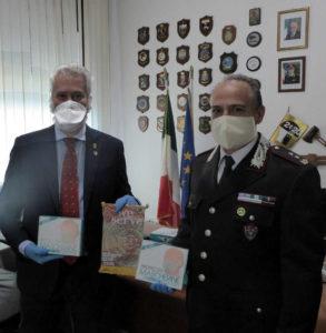 lions coronavirus mascherine carabinieri cosenza nicola clausi