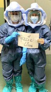 lions piemonte service coronavirus