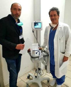 lions salerno donazione laringoscopio ospedale san giovanni