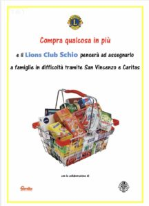 lions club schio spesa solidale