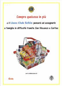 lions club schio spesa solidale