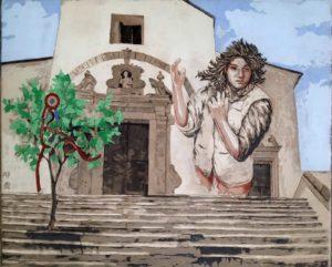 Sgraffito Ad Angela Picerno e le donne del 1799