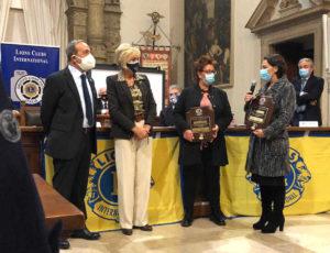 Melvin Jones Fellow Lions Cremona Mangiatordi Pagliarini