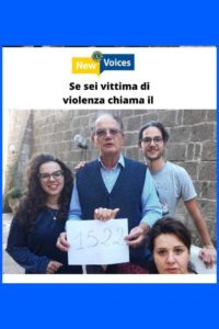 lions new voices numero nazionale antiviolenza 1522