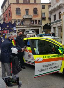 lions padova donazione ambulanza croce verde